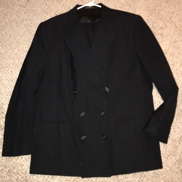Dresses & Skirts - Black Skirt Suit Size 20